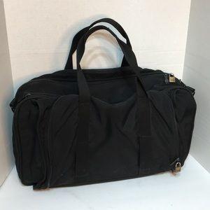Tumi Black Nylon Carry- On Luggage bag full zipper